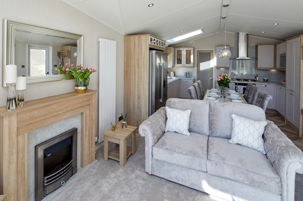 Willerby Vogue Lounge to Kitchen