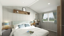 Willerby Seasons Bedroom