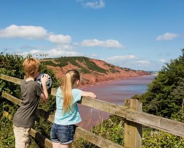 Nature Trail at Devon Cliffs