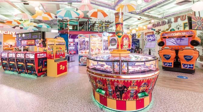 Cashless arcades at Haven