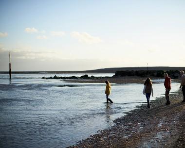 Direct access to a shingle beach at Church Farm