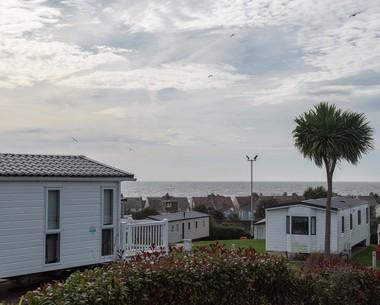 Sea views at Combe Haven