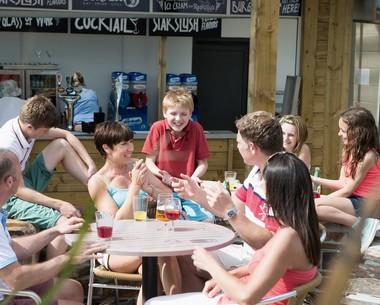Coast sports bar at Perran Sands