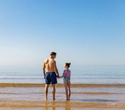 Direct beach access to Devon Cliffs