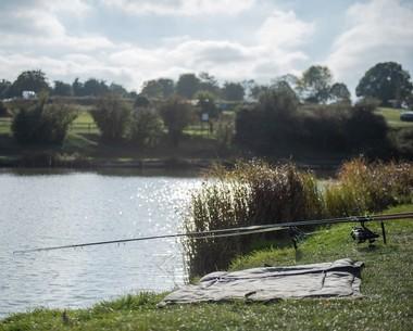 Fishing lake at Allhallows