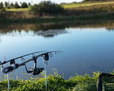 Coarse fishing lake at Seton Sands