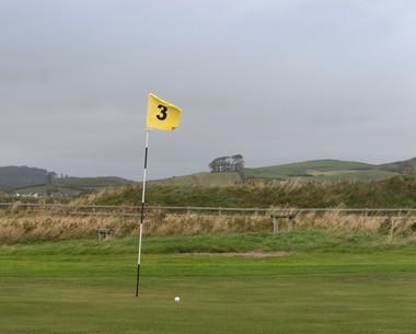 9-hole golf course at Lakeland