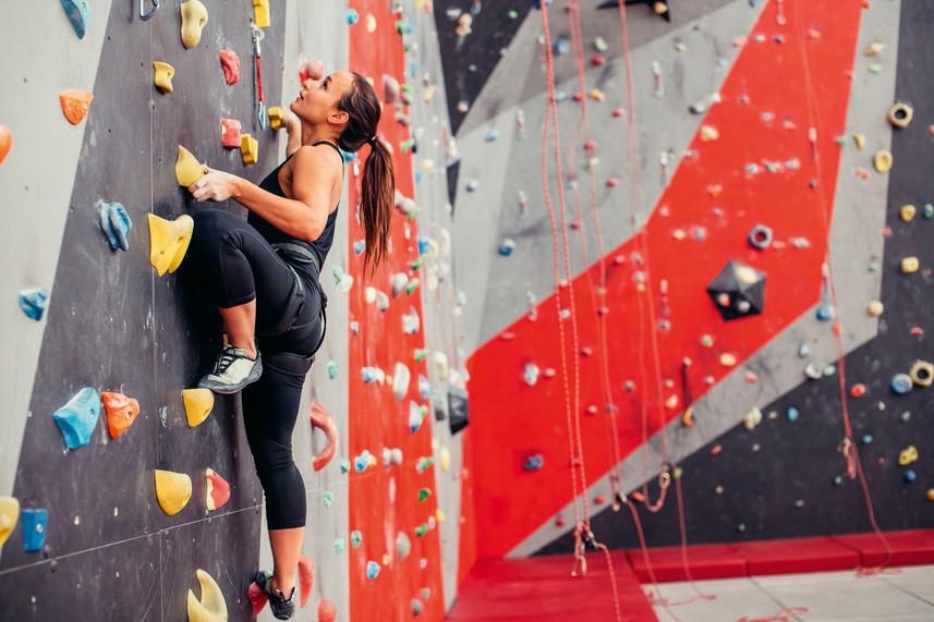 Climbing and Team GB