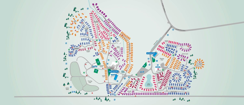 Wild Duck, Norfolk park map