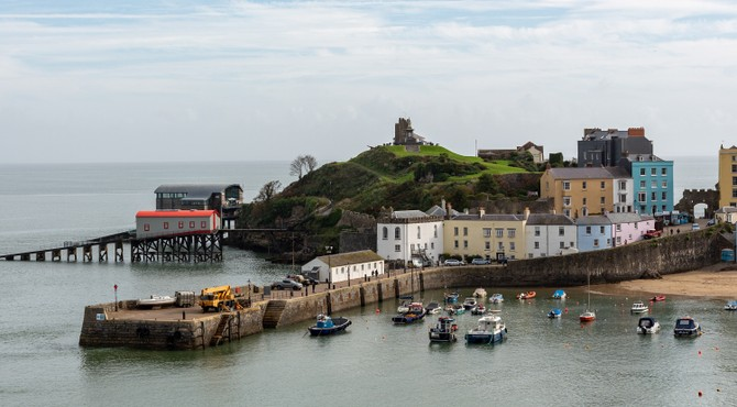 Close to historic Tenby