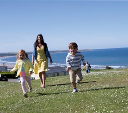 Reighton Sands touring and camping holidays