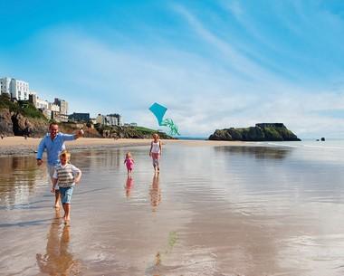 Tenby has 3 blue flag beaches