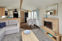 Willerby Sierra Lounge to Kitchen