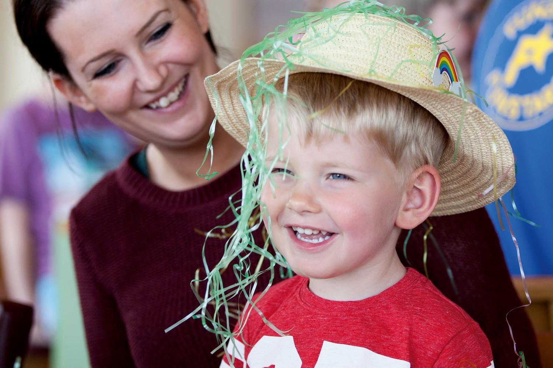 Easter bonnet parade at Haven