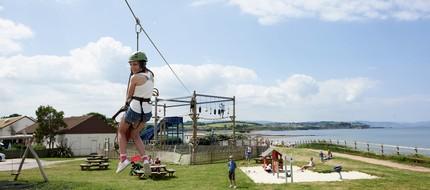 Activities at Doniford Bay
