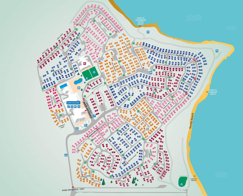 Berwick, Northumberland park map