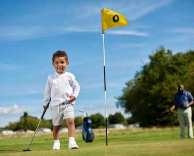 9-hole golf course at Thorpe Park