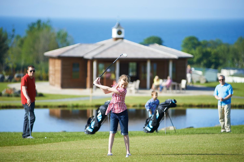 Golf holidays at Seton Sands, Scotland