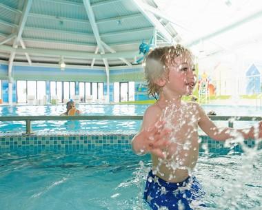Indoor pool at Littlesea
