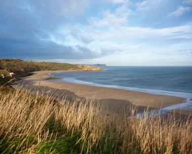 Beautiful Yorkshire coast at Blue Dolphin