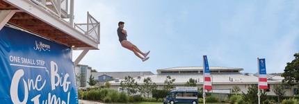 The Jump at Craig Tara