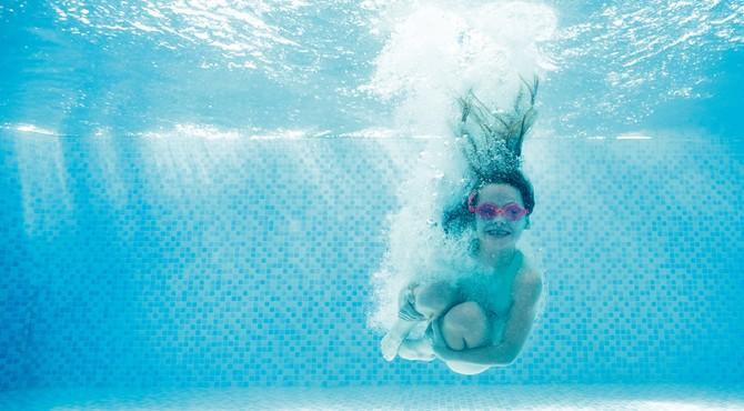 Indoor pool at Hopton