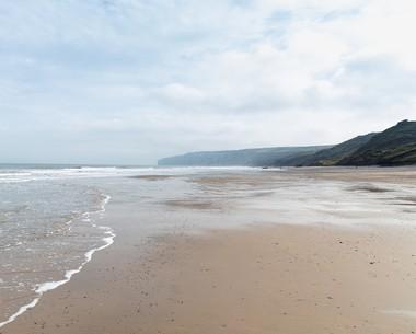 Sandy Beach at Reighton Sands